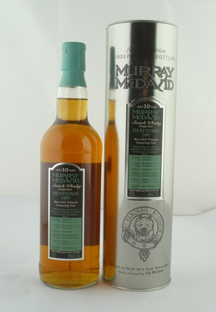 MURRAY MCDAVID Single Malt Scotch Whisky, Duf