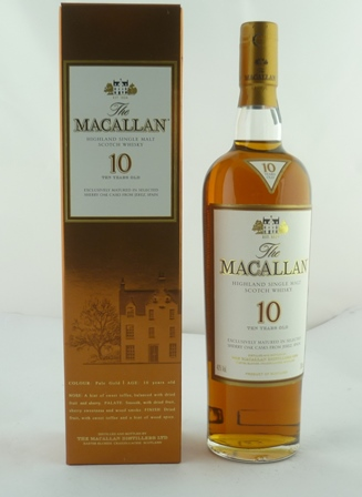 THE MACALLAN Highland Single Malt Scotch Whis