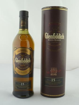 GLENFIDDICH SOLERA RESERVE Fine Old Single Ma