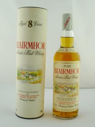BLAIRMHOR Scotch Malt Whisky, aged 8 years, 4