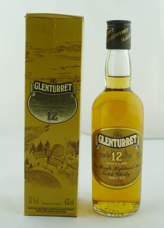 GLENTURRET Pure Single Highland Malt Scotch W