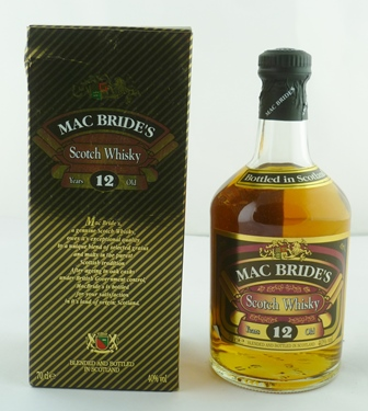 MACBRIDES Blended Scotch Whisky, aged 12 year