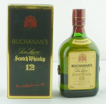 BUCHANANS De-luxe Blended Scotch Whisky, aged