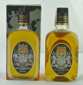 HIGHLAND CLAN Special Reserve Blended Malt Sc