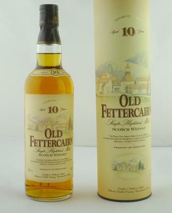 OLD FETTERCAIRN Single Highland Malt Scotch W