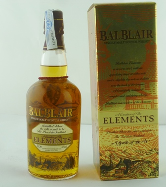 BALBLAIR Single Malt Scotch Whisky, 40% vol.,