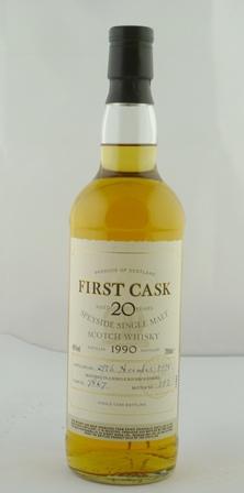 FIRST CASK SPEYSIDE Single Malt Scotch Whisky