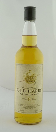 OLD HARRY Special Reserve Pure Malt Whisky, a