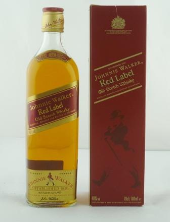 JOHNNIE WALKER RED LABEL Old Scotch Whisky, 4
