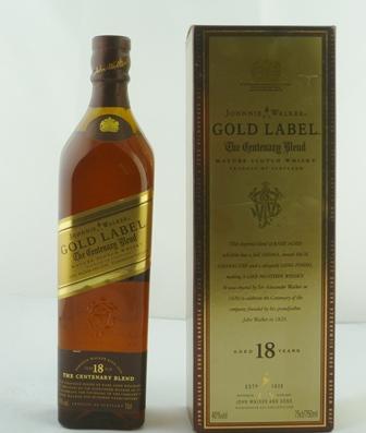 JOHNNIE WALKER GOLD LABEL The Centenary Blend