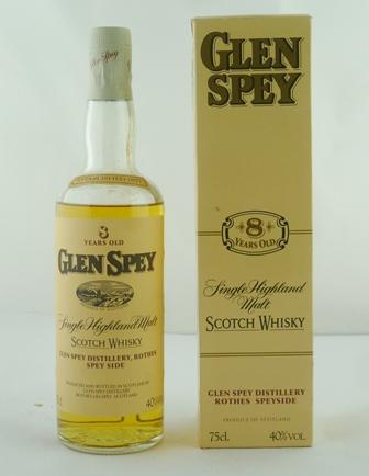 GLEN SPEY  Single Highland Malt Scotch Whisky