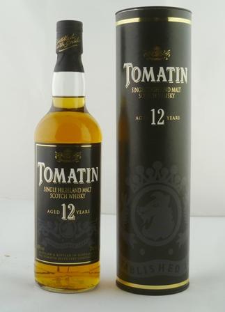 TOMATIN Single Highland Malt Scotch Whisky, a