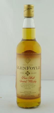 GLEN FOYLE Pure Malt Scotch Whisky, aged 8 ye