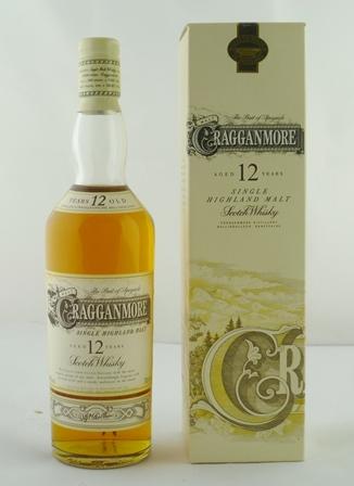CRAGGANMORE Single Highland Malt Scotch Whisk