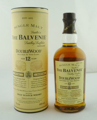 BALVENIE Single Malt Double Wood Scotch Whisk