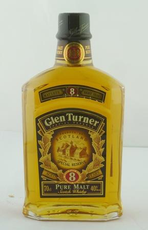 GLEN TURNER Special Reserve Pure Malt Scotch