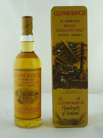 GLENMORANGIE Single Highland Malt Scotch Whis