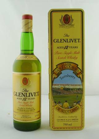 THE GLENLIVET Pure Single Malt Scotch Whisky,