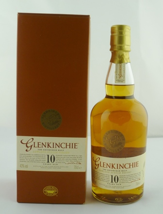 GLENKINCHIE Lowland Scotch Malt Whisky, aged