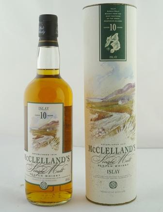 MCCLELLANDS Islay Single Malt Scotch Whisky,