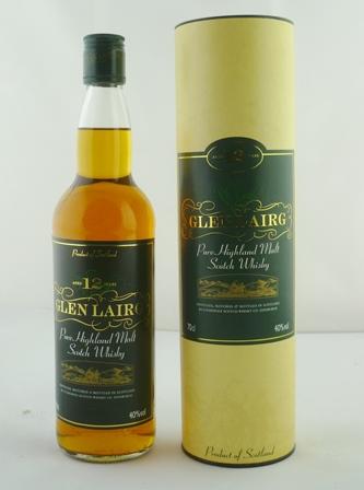 GLEN LAIRG Pure Highland Malt Scotch Whisky,