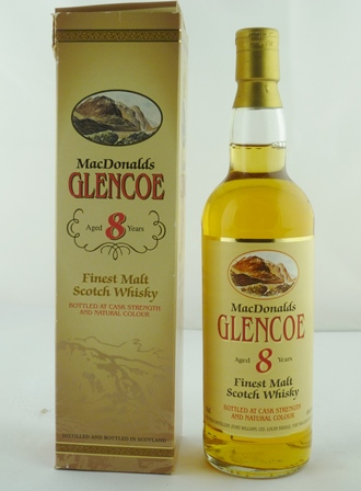 MACDONALDS GLENCOE Finest Malt Scotch Whisky,