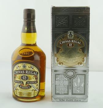CHIVAS REGAL Premium Scotch Whisky, aged 12 y