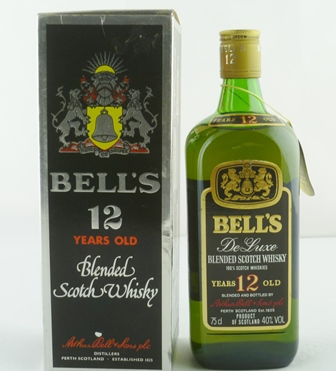 BELLS Deluxe Blended Scotch Whisky, aged 12 y