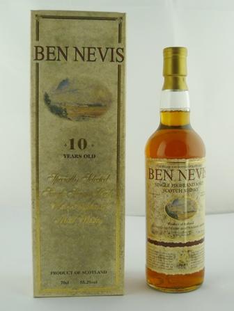 BEN NEVIS West Highland Single Malt Scotch Wh