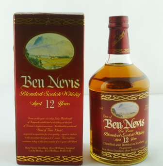 BEN NEVIS Deluxe Blended Scotch Whisky, aged