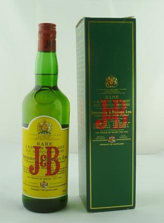 J.B. Rare Scotch Whisky, a Blend of the Pures