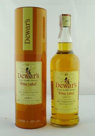 DEWARS WHITE LABEL Finest Scotch Whisky, 40%