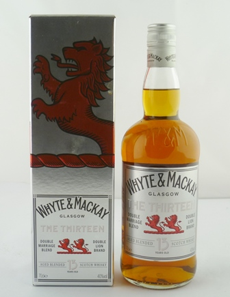 WHYTE & MACKAY THE THIRTEEN Double Marriage B