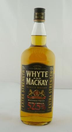 WHYTE & MACKAY Extra Strength Scotch Whisky M