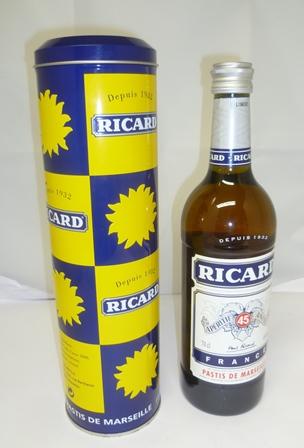 RICARD APERITIF ANISE 45% 1 x 70cl bottle in