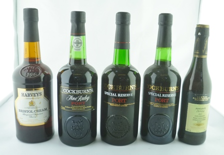 A SELECTION OF PORT & SHERRIES; Cockburns Fin