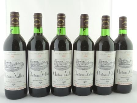 CHATEAU DU VALLIER 1990 AC Bordeaux, Gerard L