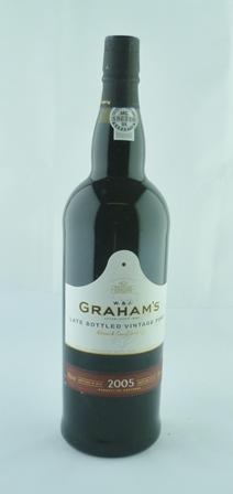GRAHAMS LBV 2005 bottled 2010, 1 litre GRAHAM