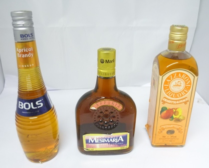 BOLS APRICOT BRANDY 1 x 50cl bottle LAZZARONI