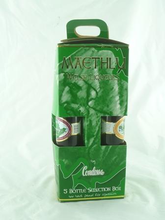 Whisky/Brandy based Liqueurs MAETHLU WELSH LI