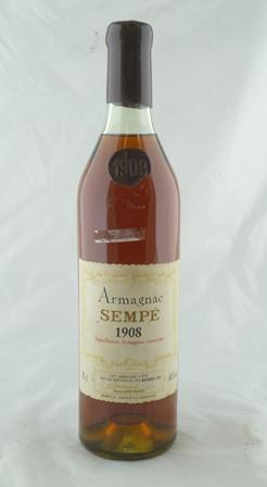 SEMPE 1908 Armagnac, 1 bottle