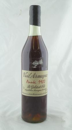 B. GELAS ET FILS Vieil Armagnac 1900 1 bottle