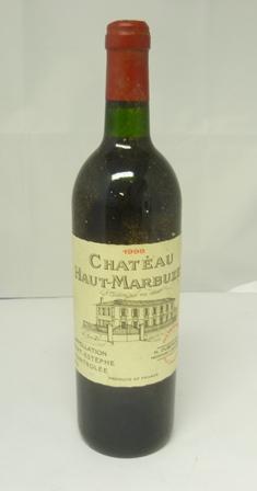 CHATEAU HAUT MARBUZET 1998 Cru Bourgeois St E