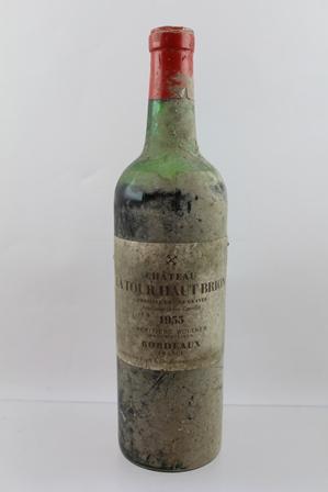 CHATEAU LATOUR HAUT BRION 1955 premier cru de