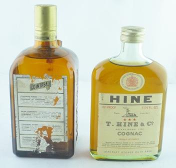 T. HINE & CO COGNAC 1 x 11.5fl oz flask style