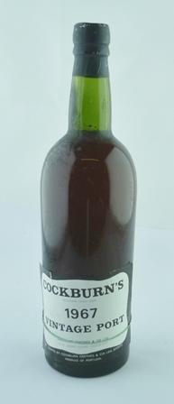 COCKBURNS PORT (as found), 1 botttle