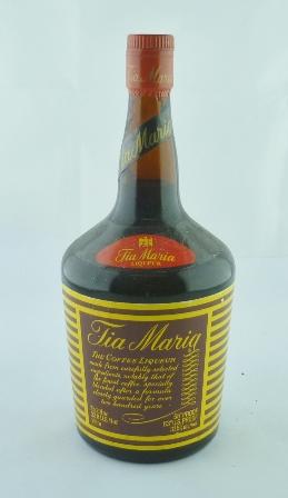 TIA MARIA, 55 degrees proof, 1 x litre bottle