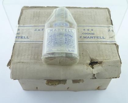 MARTELL 3-STAR COGNAC, 70 degrees proof, 12 x