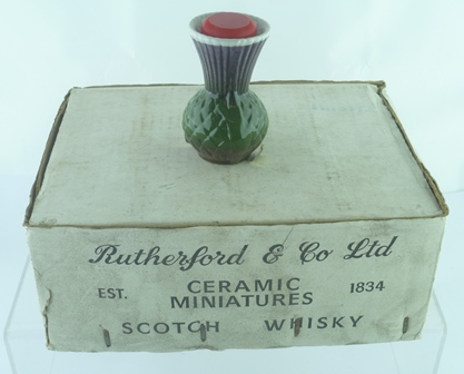 RUTHERFORD CERAMIC THISTLES, 70 degrees proof