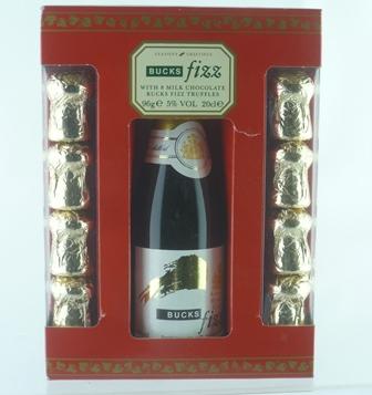 BUCKS FIZZ with Chocolates, 1 x 20cl bottle